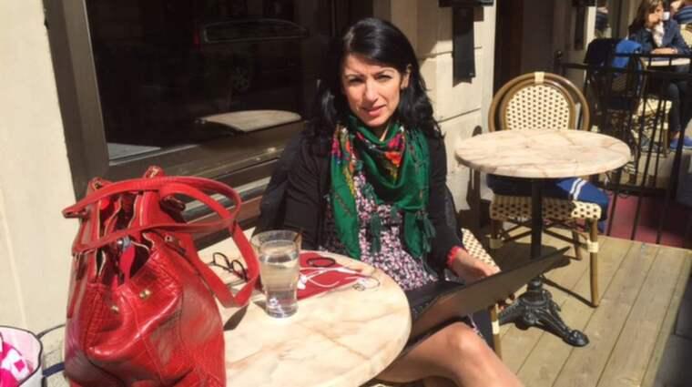Amineh Kakabaveh är grundare av nätverket Varken hora eller kuvad och riksdagsledamot (V) Foto: Privat