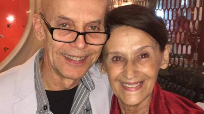 Här firar Alicias föräldrar Svante Vikander och Maria Fahl Vikander. Foto: Anne-Sofie Näslund