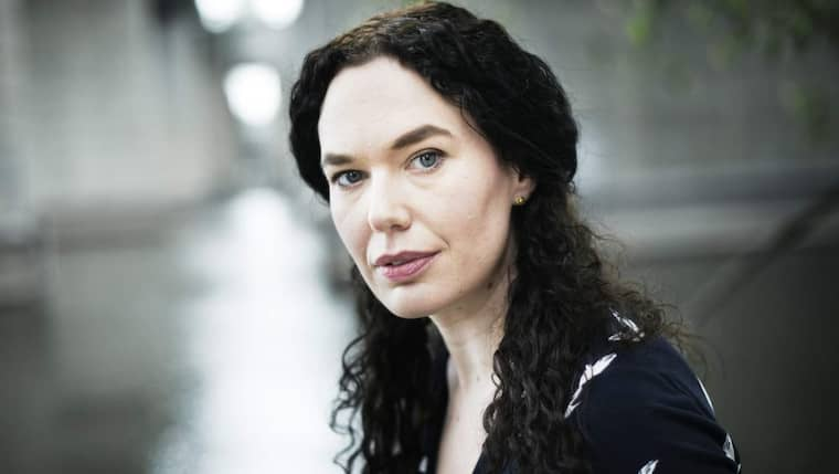 Författaren Therese Bohman. Foto: Theo Elias Lundgren
