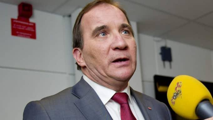 Statsminister Stefan Löfven (S). Foto: Sara Strandlund