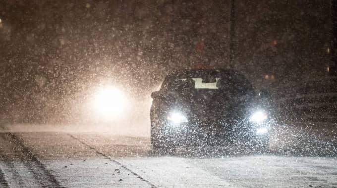 Hela landet täcks av kall luft, rapporterar SMHI. I fjälltrakterna gör hård vind att kyleffekten blir mycket stark. Foto: Pelle T Nilsson