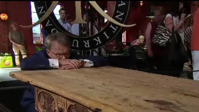 Bordet värderas till sanslösa 150 000 kronor. Foto: SVT