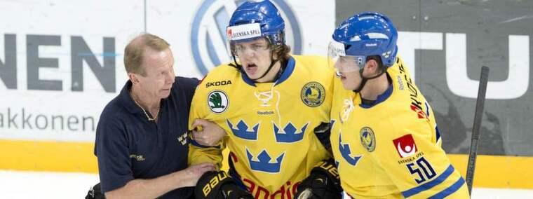 Mattias Janmark skadade sig under Karjalaturneringen och får nu vila. Foto: Niklas Larsson