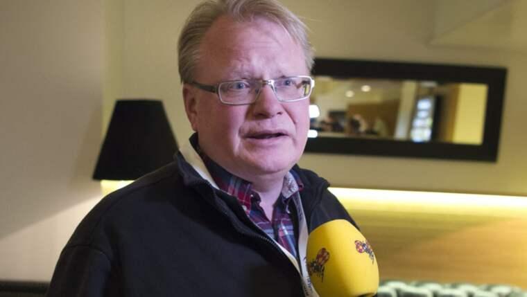 Peter Hultqvist hyr en lägenhet av Militärhögskolans bostadsstiftelse. Foto: Sven Lindwall