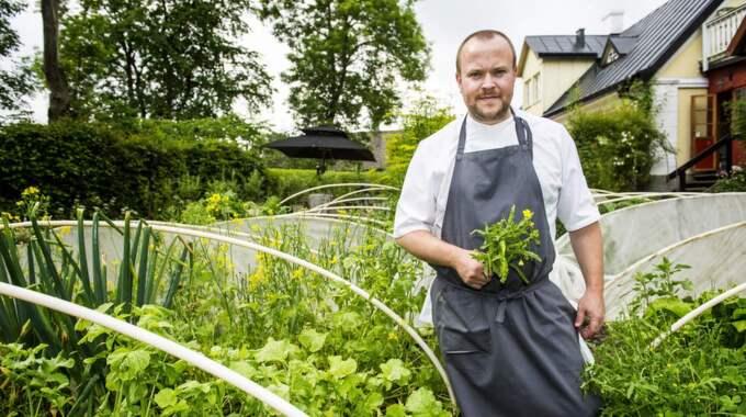Daniel Berlins krog i Tomelilla hyllas för egenodlade råvaror. Foto: Christian Örnberg