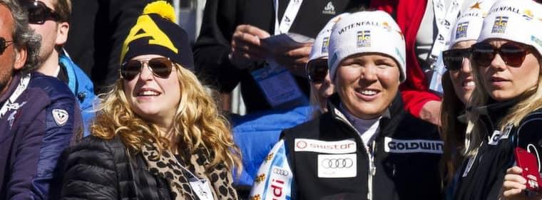 Filippa och Anja. Foto: Nils Petter Nilsson