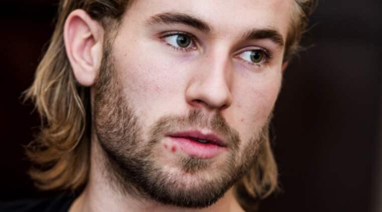 Fyra år efter tiden i Malmö Redhawks spelar Roger Ohlsson fortfarande hockey Foto: Christian Örnberg