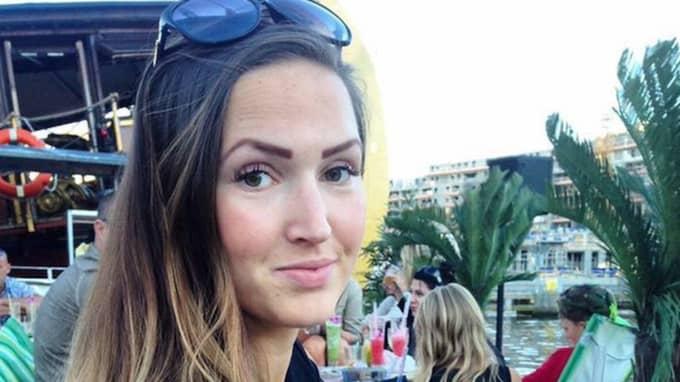 """Madeleine Sotare, 26 år, Liljeholmen """"För min del så känner jag mig inte så stressad, jag har en dotter sedan innan. Och då fick vi plats, så jag antar bara att det ska finnas plats den här gången också"""". Foto: Privat"""
