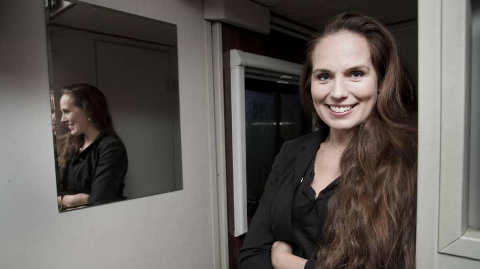 Sigrid Bergåkra berättar nu om om vikten av att kvinnor får ta för sig och om tankarna på förlovning och fler barn. Foto: Olle Sporrong