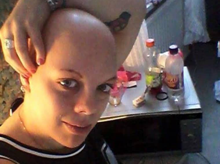 Josefin Lundström upptäckte sin cancer sommaren 2014. Foto: Privat