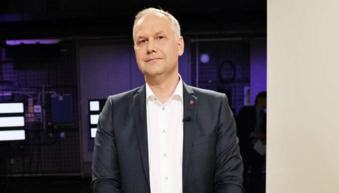 Partiledare Jonas Sjöstedt (V). Foto: Anna-Karin Nilsson