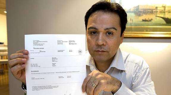 Friande intyg. I går tog Expressen del av ett läkarintyg som visar att Tito Beltrán inte har könsherpes. Enligt sångaren ska det bevisa att han är oskyldig till de övergrepp mot en flicka som han anklagas för. Foto: SUVAD MRKONJIC
