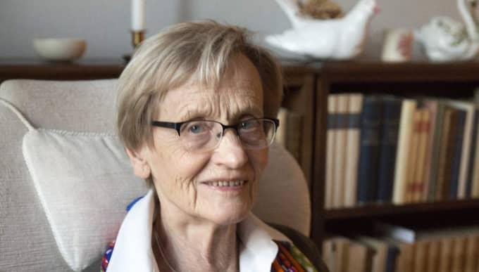 Astrid Lindgrens dotter Karin Nyman Foto: Ylwa Yngvesson