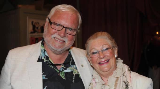 Leif Mannerström med hustrun Lilian. Nu har flera okända syskon till stjärnkocken dykt upp. Foto: Leif Gustafsson