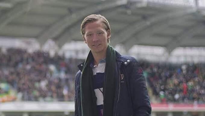 Charlie Eriksson är mannen bakom aldrigensam. Foto: Albin Rylander