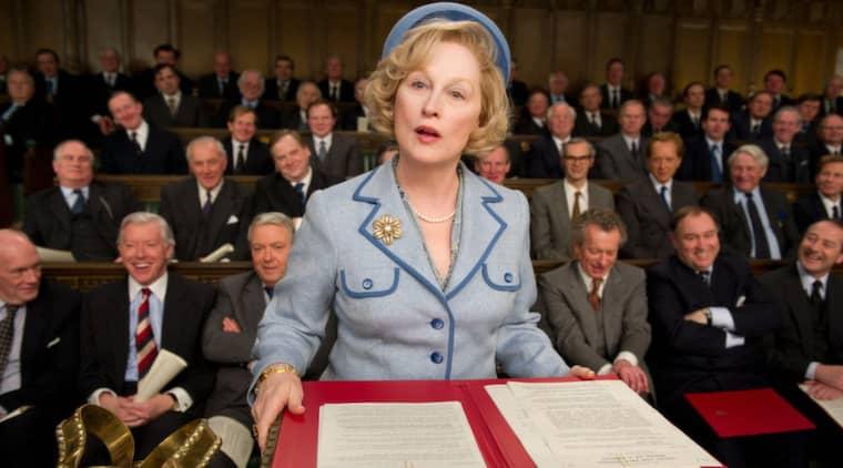 Meryl Streep läser lusen av oppositionen. Foto: Scanbox