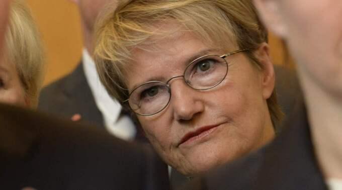 Kristina Persson utsågs på fredagen till minister för strategi och framtidsfrågor samt för nordiskt samarbete. Foto: Jonas Ekströmer / Tt