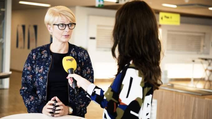 """""""Det måste vara enkelt"""", säger Elisabeth Svantesson, M, arbetsmarknadspolitisk talesperson. Bilden är tagen vid ett tidigare tillfälle. Foto: Anna-Karin Nilsson"""
