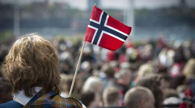 JA, VI ELSKER DETTE LANDET. Också vid globala jämförelser är Norge extremt nationalistiskt. Foto: Roger Vikström
