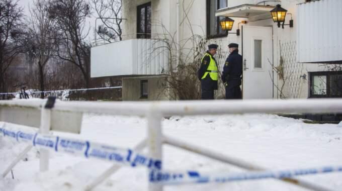 En 15-årig pojke misstänks för mordet. Foto: Henrik Jansson