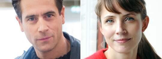 Ola Rapace och Tuva Novotny sågs ute på en mysig middag tillsammans. Foto: Alexander Donka/Anna Hållams