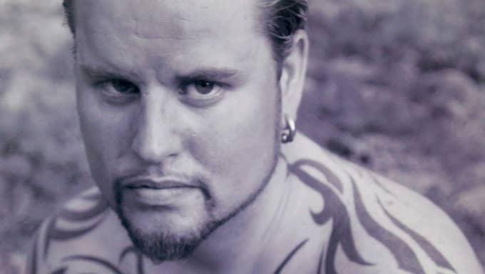 Så här såg Christian Kamp ut innan han tatuerade ansiktet 2012. Foto: Peo Möller