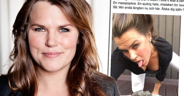 Mia Skäringers ärliga inlägg på Facebook hyllas