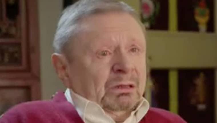 """Johan """"Iprenmannen"""" Neumann berättar nu om sin mörka barndom. Foto: SVT"""