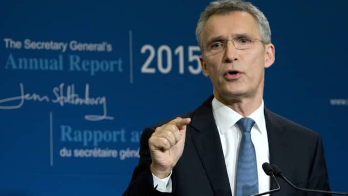 Natos generalsekreterare Jens Stoltenberg. Foto: Virginia Mayo