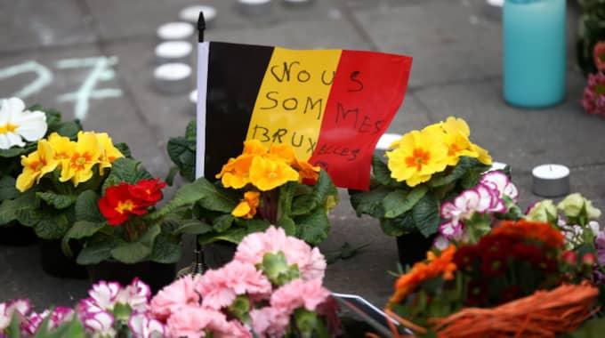 Tre dagars landssorg är utlyst i Belgien. Foto: Carl Court / GETTY IMAGES GETTY IMAGES EUROPE