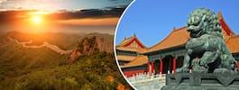 Kina inför ny kontroll av utländska turister