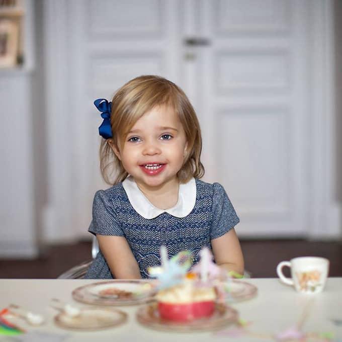 Födelsedagen började med att hovet under morgonen släppte nya bilder på prinsessan Leonore. Foto: Brigitte Grenfeldt