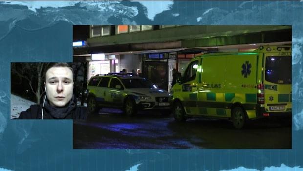 Misstänkt flyktbil hittad efter rånet