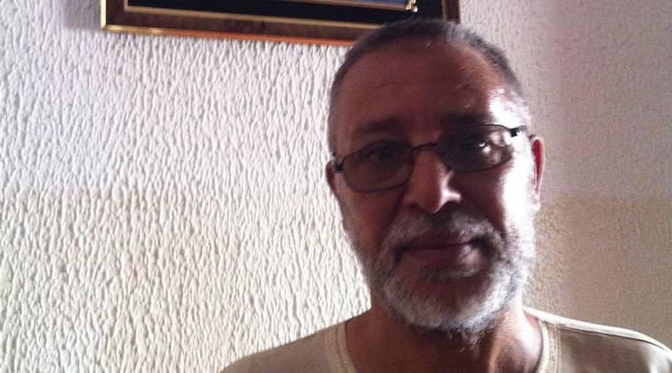BERÄTTAR. Lamin Khalifa Fhimah är i dag 55 år gammal. Nu, 23 år efter Lockerbieattentatet, berättar han för Expressen om livet efter att han friades från misstankarna att han sprängt ett passagerarplan i luften och dödat 270 personer. Foto: KASSEM HAMADÉ