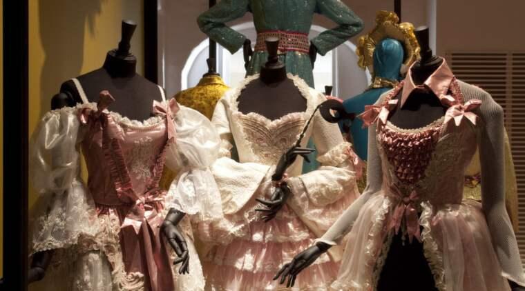 109 000 besökare såg Lars Wallins klänningar på Waldemarsudde. Foto: Lasse Edelholm
