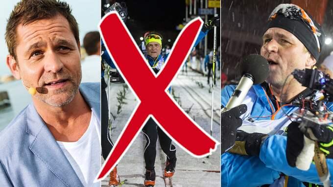 Rickard Olsson petas från SVT:s sändningar av Vasaloppet. Foto: / ANDERS YLANDER GT/EXPRESSEN