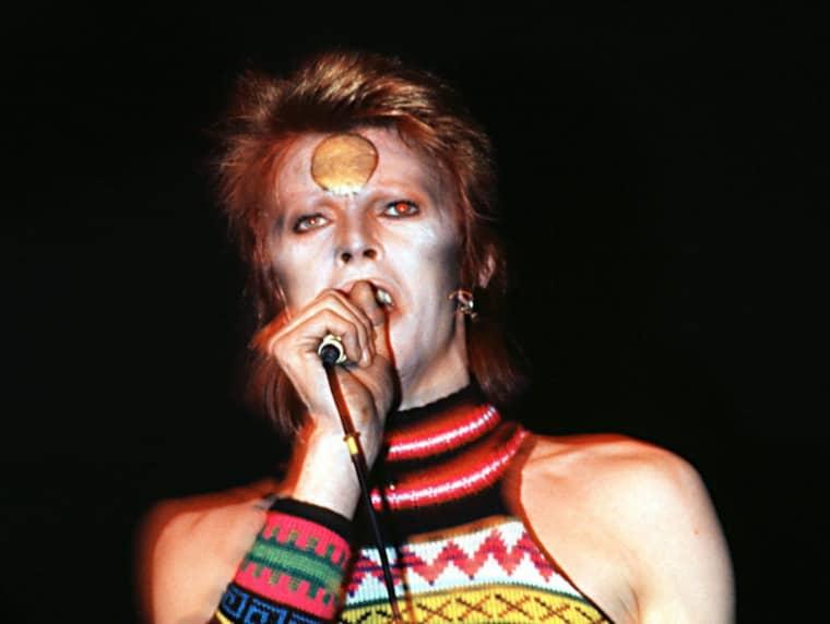 UPPTÄCKARE. David Bowie var en av artisterna som John Peel gav chansen. Igen och igen. Foto: Alpha Press