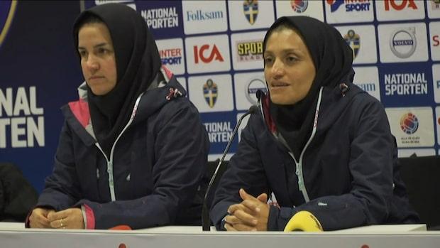 """Irans förbundskapten: """"Otrolig upplevelse"""""""