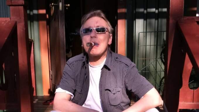 Den här bilden togs samma dag som Peter beslutade sig för att lägga drogerna bakom sig. Foto: Privat