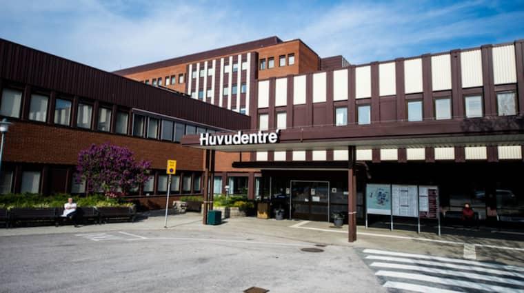 Blekingesjukhuset i Karlskrona. Foto: Patric Söderström
