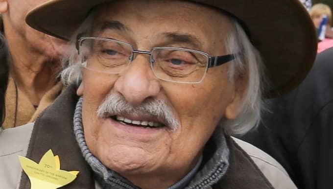"""""""Världen får inte glömma Treblinka"""" sa han i en intervju med AP 2010. Foto: Pawel Supernak / Epa / Tt"""