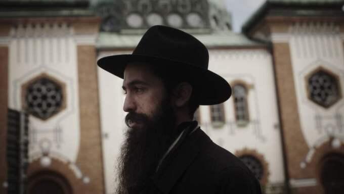 Judiska församlingen i Malmös rabbin Shneur Kesselman attackerades. Foto: Karl Melander
