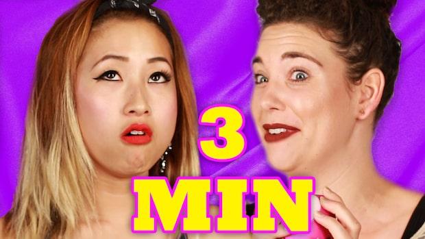 Utmaningen: Få en orgasm på under tre minuter