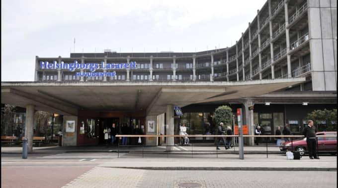 Helsingborgs lasarett tvingas ställa in operationer på grund av vårdplatsbrist. Två av de inställda är canceroperationer. Foto: Lasse Svensson