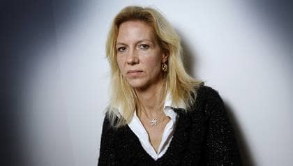 """Nu berättar Liza Marklund om härvan kring boken """"Gömda"""". Foto: Sven Lindwall"""
