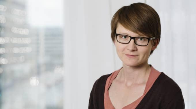 AnnaSara Carnahan, epidemiolog på Folkhälsomyndigheten. Foto: Lena Katarina Johansson