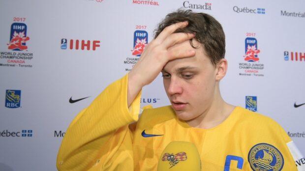 """Juniorkronorna efter förlusten mot Ryssland: """"Förjävligt"""""""