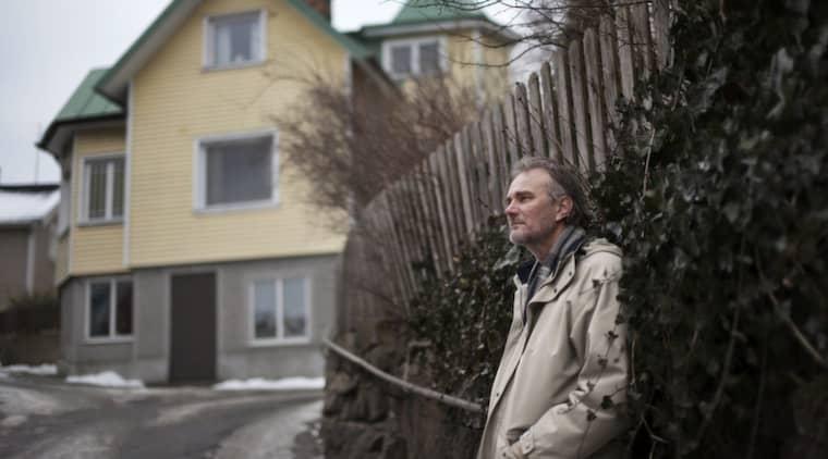 """MIN GATA. """"Jag bodde länge på ett berg i närheten och gjorde de där första 150 metrarna av Långedragsvägen till mina"""", skriver Harald Treutiger. Foto: Amelie Herbertsson"""