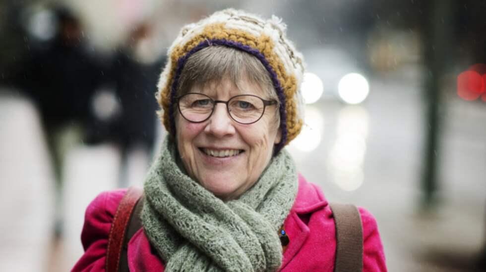 – Jag för en kamp mot klåfingriga myndigheter, säger Agnes Wold. Foto: Robin Aron