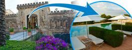 Kika in i ett av Mallorcas absolut häftigaste hotell